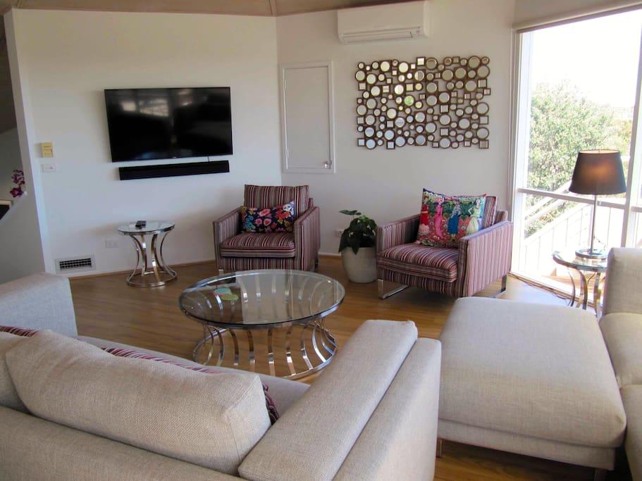 Smart TV, Bluetooth soundbar and new furnishings