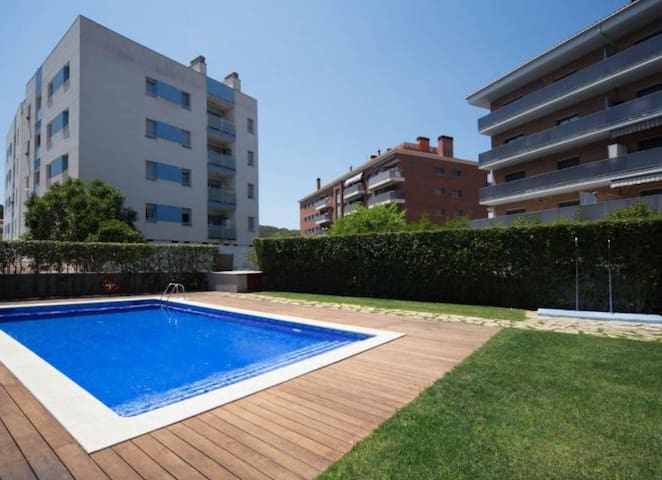 Beautiful apartment 4 p 300 meters from the beach.