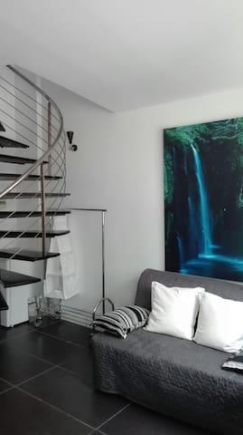 PRECIOSO LOFT EN LA ZONA MAS MODERNA DE MADRID - Madrid - Apartment