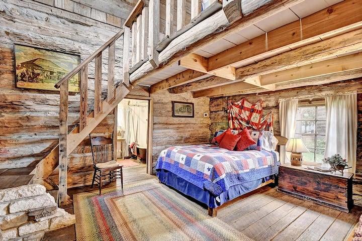 The Rose Mansion - Garrison Log Cabin