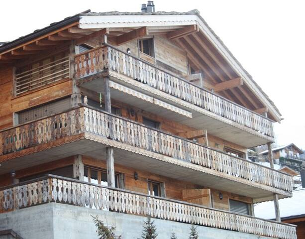 2 pièces 4* endroit ensoleillé  à 1 km des pistes - Veysonnaz - Apartment