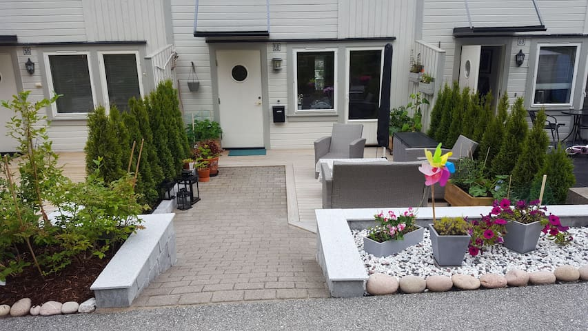 Bright and Comfy townhouse, Nyborg