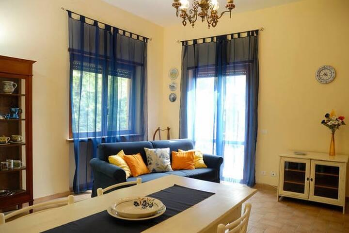 Casa sul Soratte appartamento blu