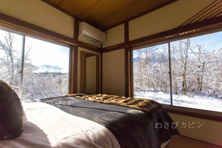 Amazing Views! Entire home.Sleeps 6 - Wasabi Cabin