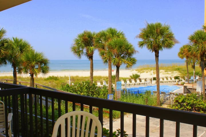 Beach View from This Nicely Updated Unit -  Balcony - Free Wifi - 238 Surf Song - #238 Surf Song Resort