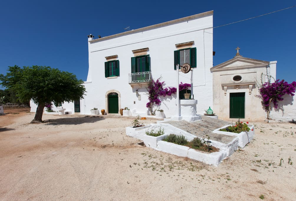 An authentic, tastefully renovated 18th century masseria (Puglian fortified manor)
