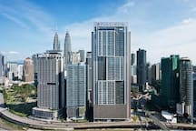 One of the tallest serviced apartment in KL!