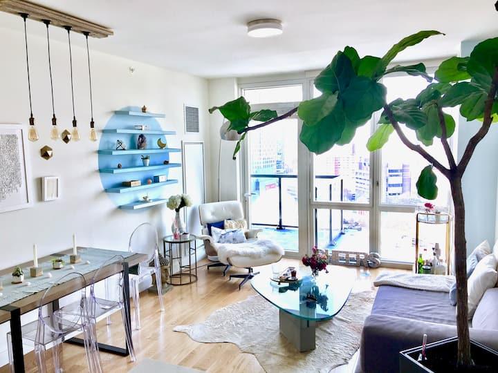 Beautifully Designed 2BD Brooklyn Apt +GREAT VIEWS
