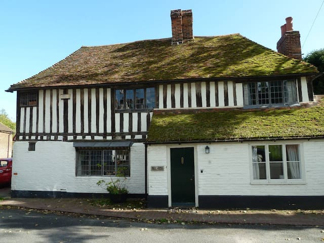 The Bell House- Beautiful 16th century cottage on the village green