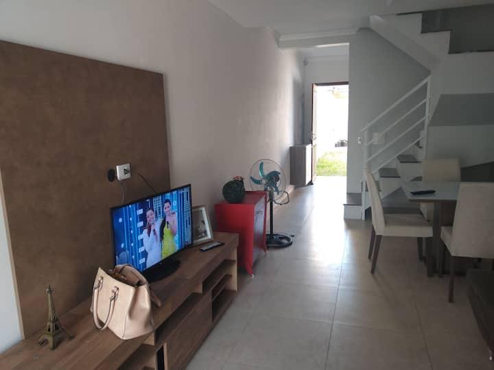 Casa nova para quem gosta de praia =)
