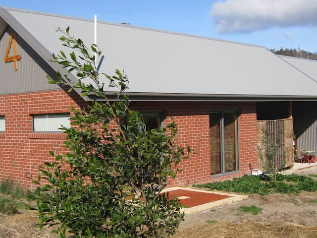 Chook on the Roof: Double central unit
