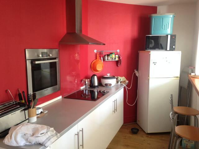 Appartement lumineux à Croix-Rousse