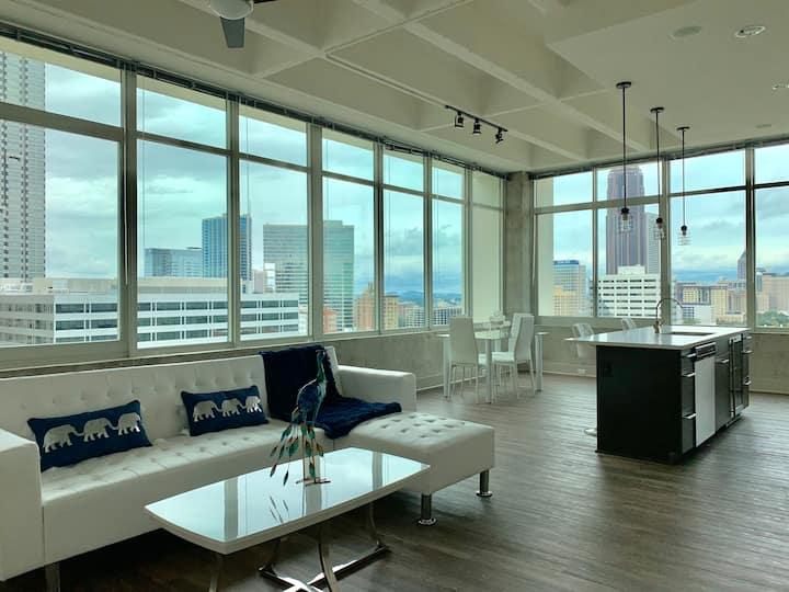 Luxury Panoramic View of Atlanta