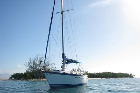 40' sailboat at anchor, Montego bay - Montego Bay - Vene