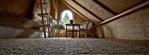 Ferienhaus für Zwei in Lassan gegenüber von Usedom