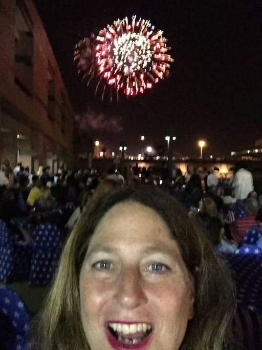 Fireworks on July 4th in downtown Rochester; Canandaigua, Geneva and other surrounding communities of Canandaigua have fireworks - Come for Labor Day Ring of Fire too!