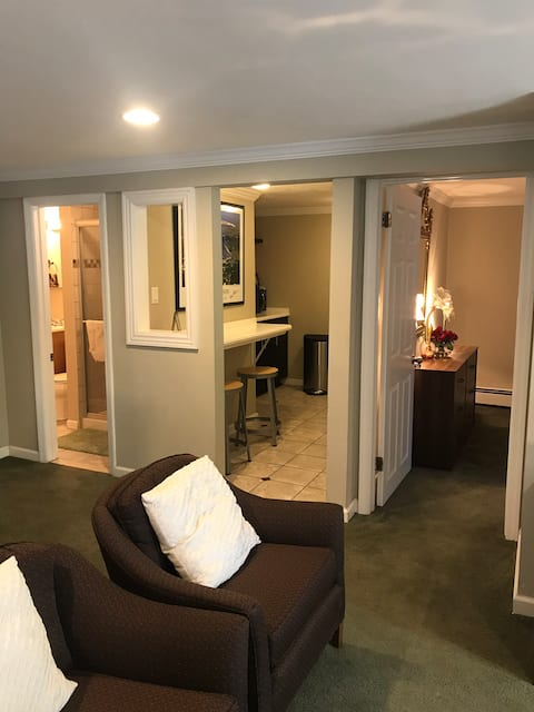 E. Setauket cozy/spacious walk-in private apt.
