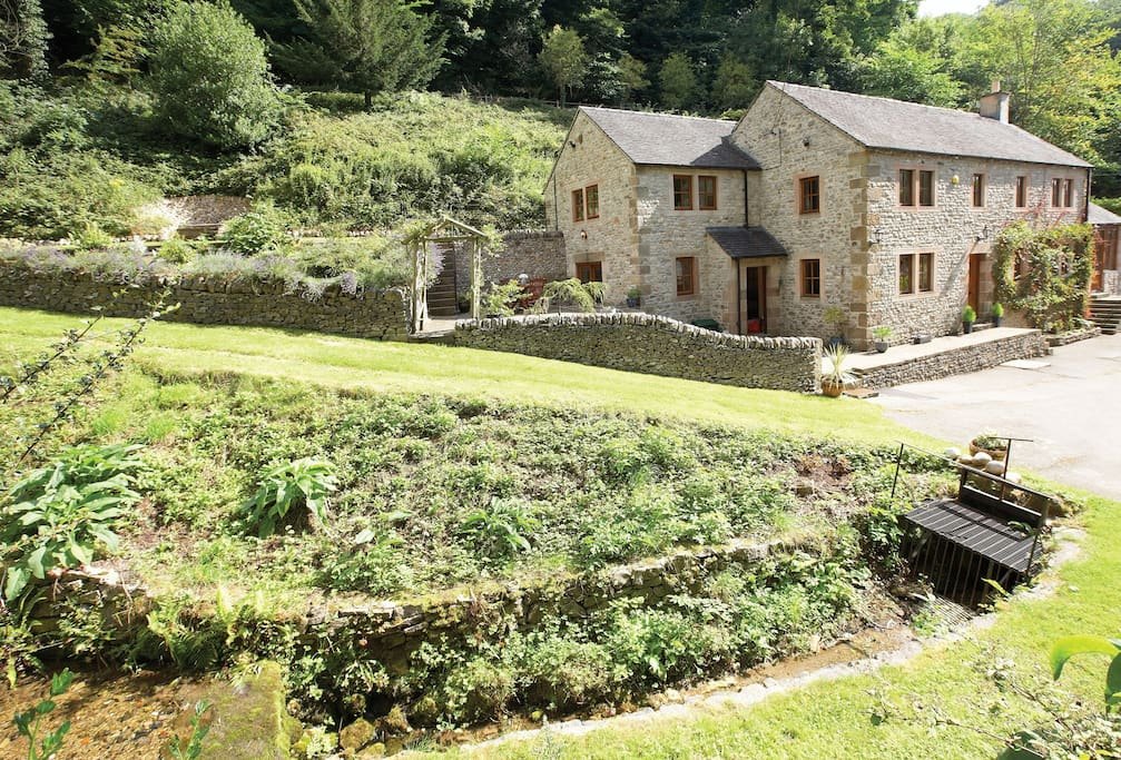 Although the property has separate and private access, the property is adjoined to the main house which is occupied by the owners