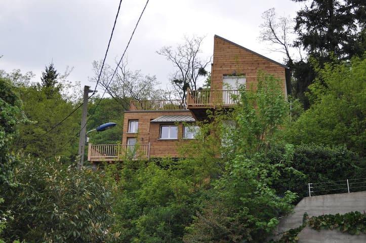 New wooden house, stunning views - Palaiseau - Hus