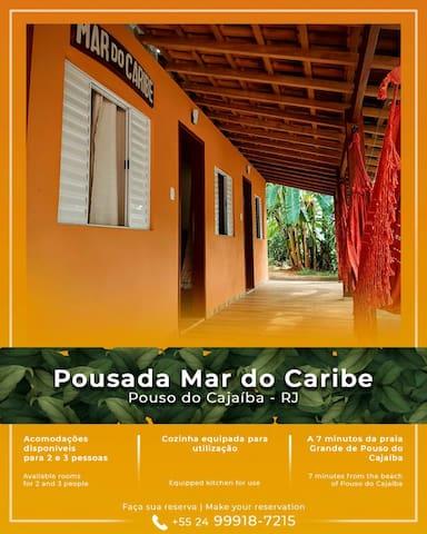 Suíte 03 lugar familiar em Pouso da Cajaíba.