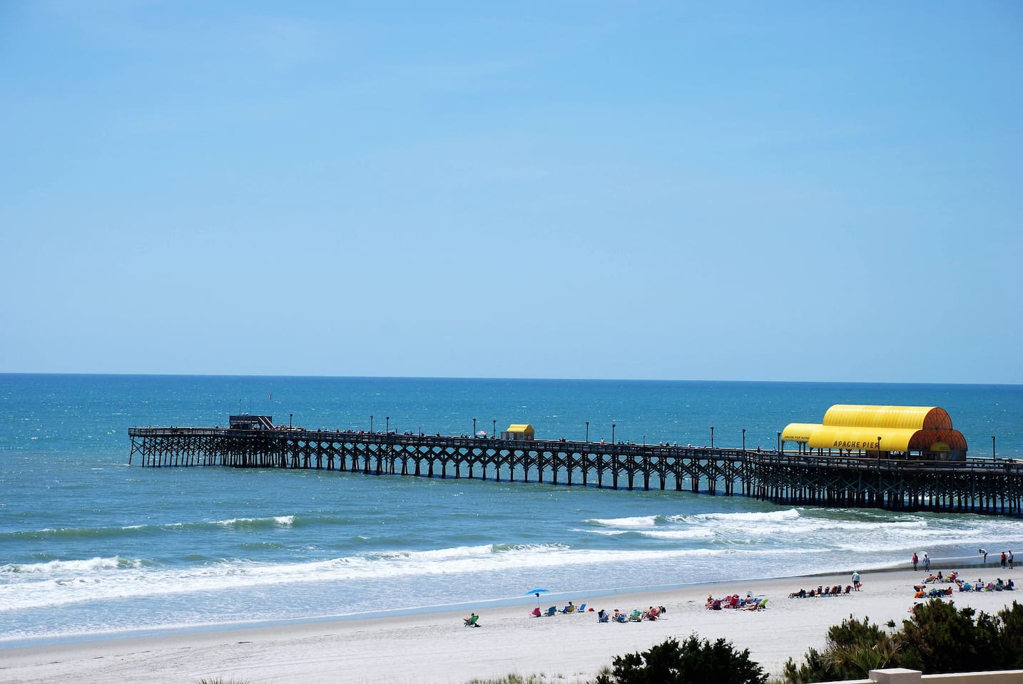Direct view of Apache Pier.