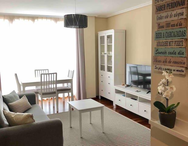 Apartamento en Llanes con WiFi y garaje