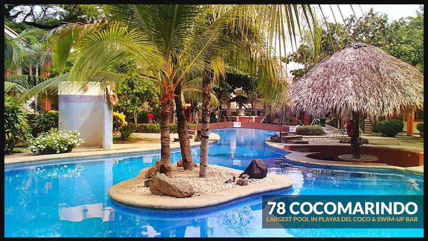 2BDR condo, safe/clean/secure 5 mins walk to beach - Coco