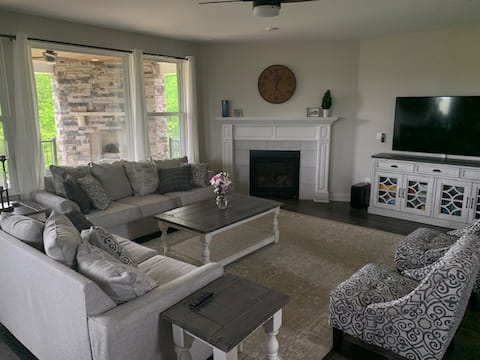 Spacious home with lots of family entertainment