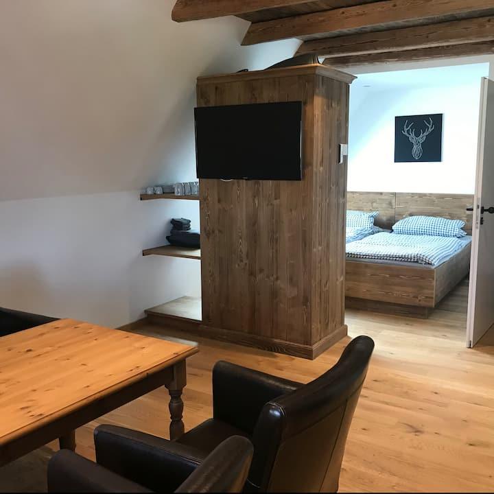 Ferienwohnung im Berghütten-Style Bad Wörishofen