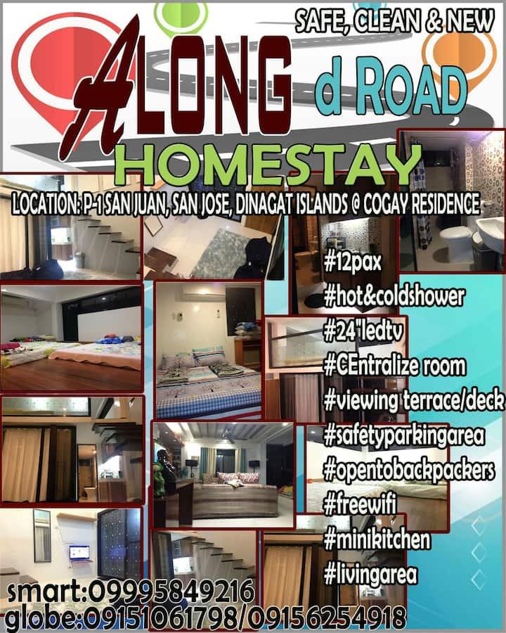 Along D Road Homestay(Fam Room 1) Dinagat,San Jose