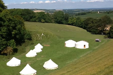 Exclusive use of stunning site Yurts & Bell Tents - Lewes - Yurt