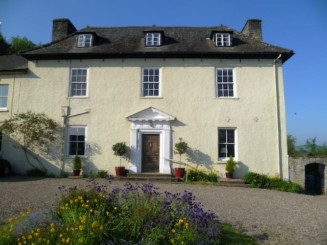 Aberllynfi House Twin bedded room with Breakfast - Hay-on-Wye - Bed & Breakfast
