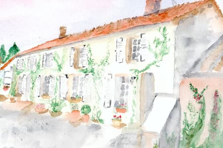 Au Pré du Moulin - Auges du Midi - Clamanges - Bed & Breakfast