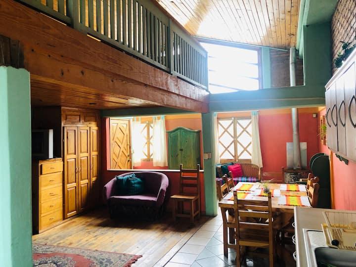 Departamento estilo cabaña en Creel
