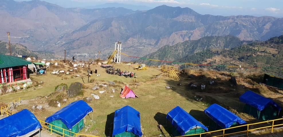 Rock Garden Camp Buranskhanda Dhanaulti