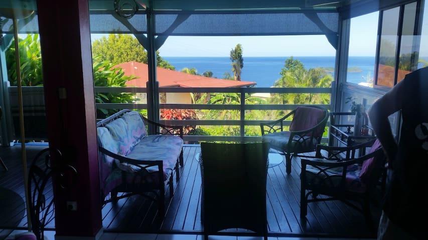 Appartement vue sur Réserve Cousteau