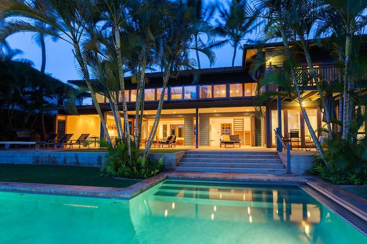 Oceanfront in Paia, pool and hot-tub