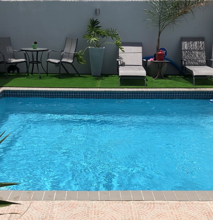 1 Bedroom apt with private Pool nearby Isla Verde