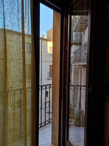 Vista della Chiesa di San Lorenzo, scorcio dalla camera da letto