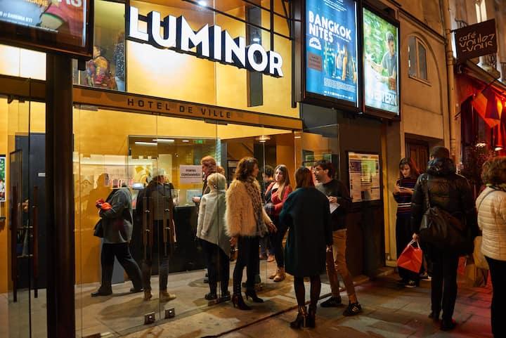 Luminor Cinema, in the heart of Paris