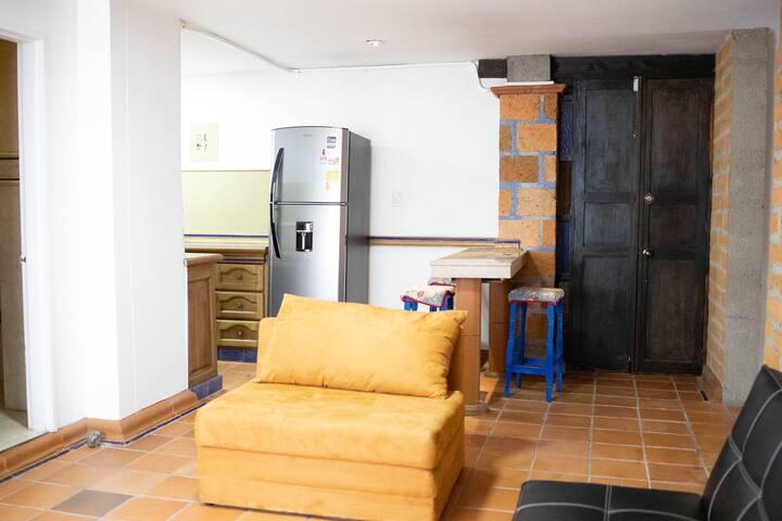 Apartamento con excelente ubicación en el poblado
