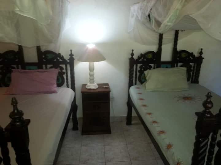 Rafiki Twin room