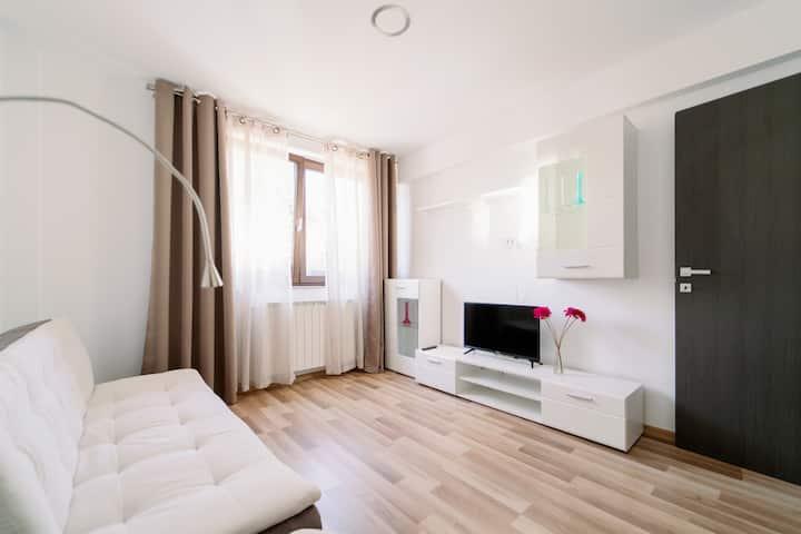 Minimalist Neversea beach apartment