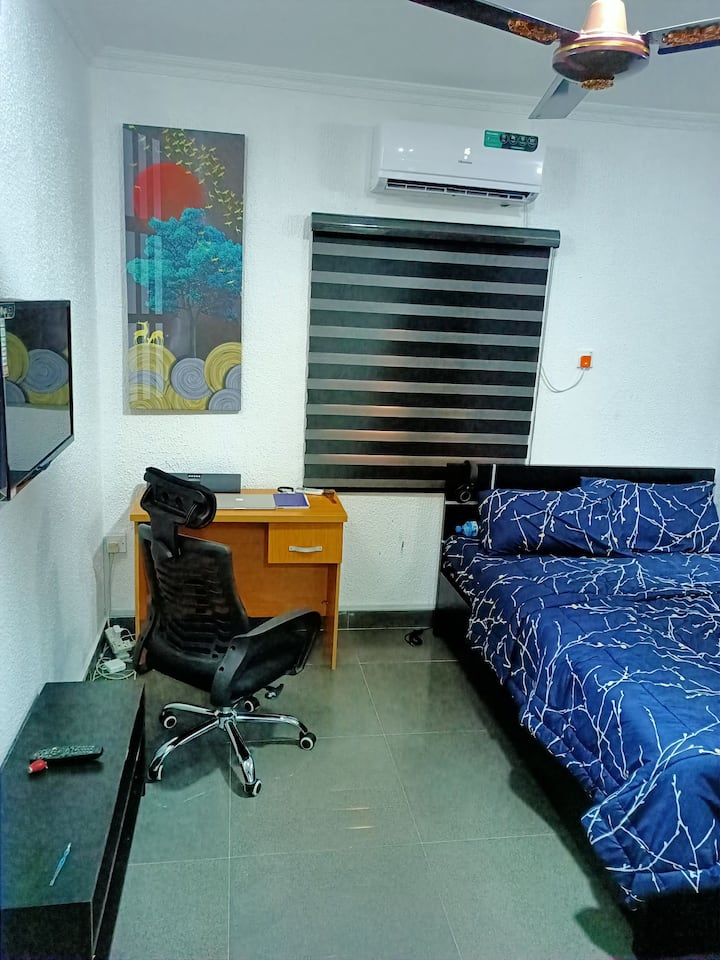 Comfortable fine room in a secured estate in Ikoyi