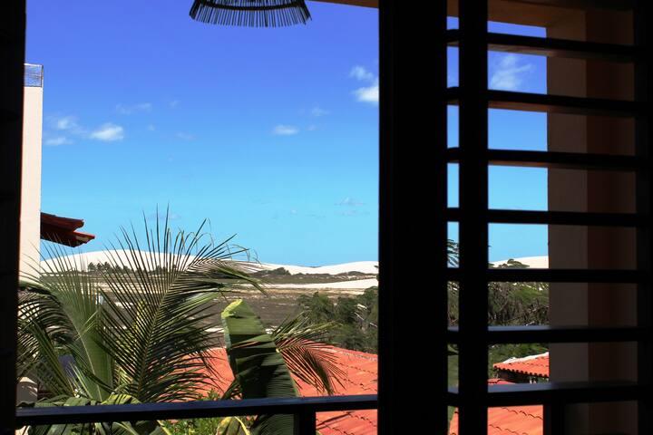 V.Kitesurfando Compact Kitchen Dunes View