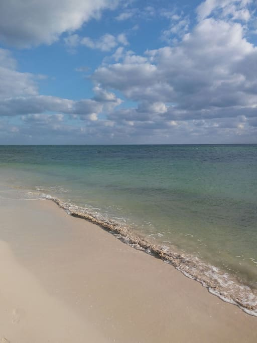 One of the beaches to swim and snorkel at Bahia Honda State Park 7 mi. North.