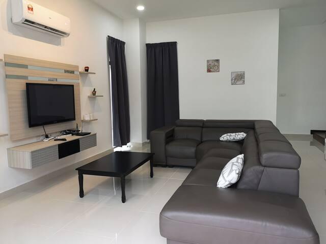 Resort villas cinta sayang 8-12 pax@ sungai petani