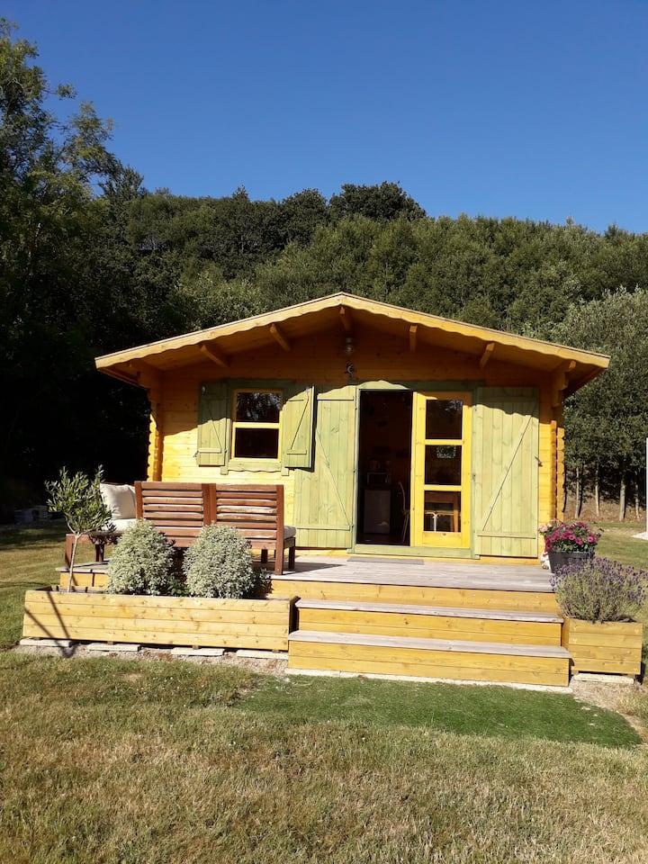 The little waterside cabin