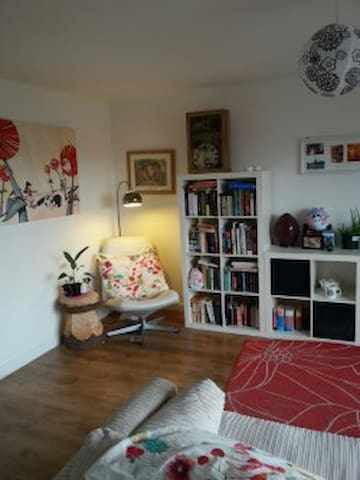 Cosy yet spacious 2 bedroom flat - Glasgow - Appartement