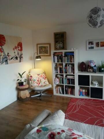 Cosy yet spacious 2 bedroom flat - Glasgow - Apartamento